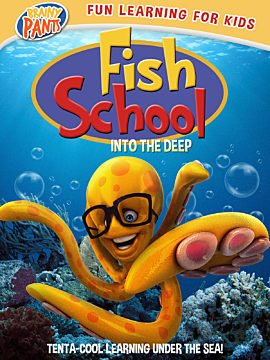 Fish School Into the Deep