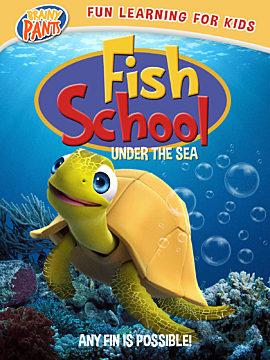 Fish School Under the Sea