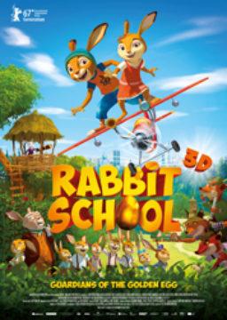 3D Rabbit School - Guardians of the Golden Egg