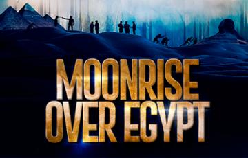Moonrise Over Egypt
