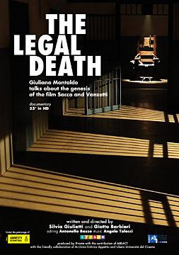"The legal death : Giuliano Montaldo talks about the genesis of the movie ""Sacco e Vanzetti"""