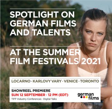 Spotlight on German Films and Talents at the Summer Film Festivals 2021