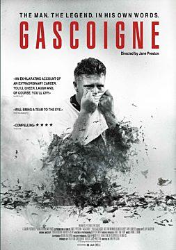 Gascoigne. The Man. The Legend.
