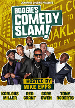 DeMarcus Cousins Presents Boogies Comedy Slam