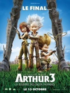 Arthur 3 The War of Two Worlds